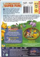 Winnie the Pooh - Friendly Tails DVD Case Back
