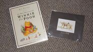 The Many Adventures of Winnie the Pooh collectors edtiton VHS with litograph