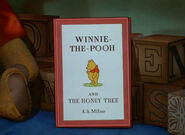 Winnie the Pooh and the Honey Tree storybook