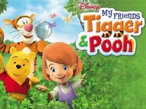 My friends tigger and pooh-show