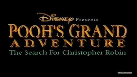 Video Pooh S Grand Adventure The Search For