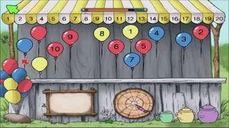 Disney's Winnie the Pooh Kindergarten Part 4 - Roo's Number Balloons (Gameplay Walkthrough)