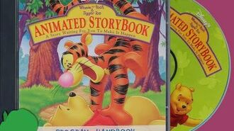 A SOMEWHAT WALKTHROUGH OF DISNEY'S ANIMATED STORYBOOK WINNIE THE POOH AND TIGGER TOO IN HD
