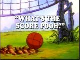 What's the Score, Pooh?