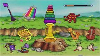 Disney's Winnie the Pooh Kindergarten Part 5 Eeyore's Musical Mix and Match (Gameplay Walkthrough)