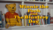 Winnie the Pooh and the Blustery Day title card