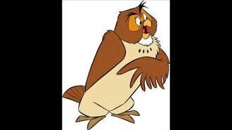 Disney's Winnie The Pooh The Series - Owl Voice