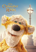 Christopher Robin Tigger Character Poster