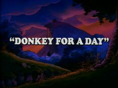 Donkey for a Day