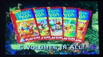 Opening to Winnie the Pooh Frankenpooh 1997 VHS