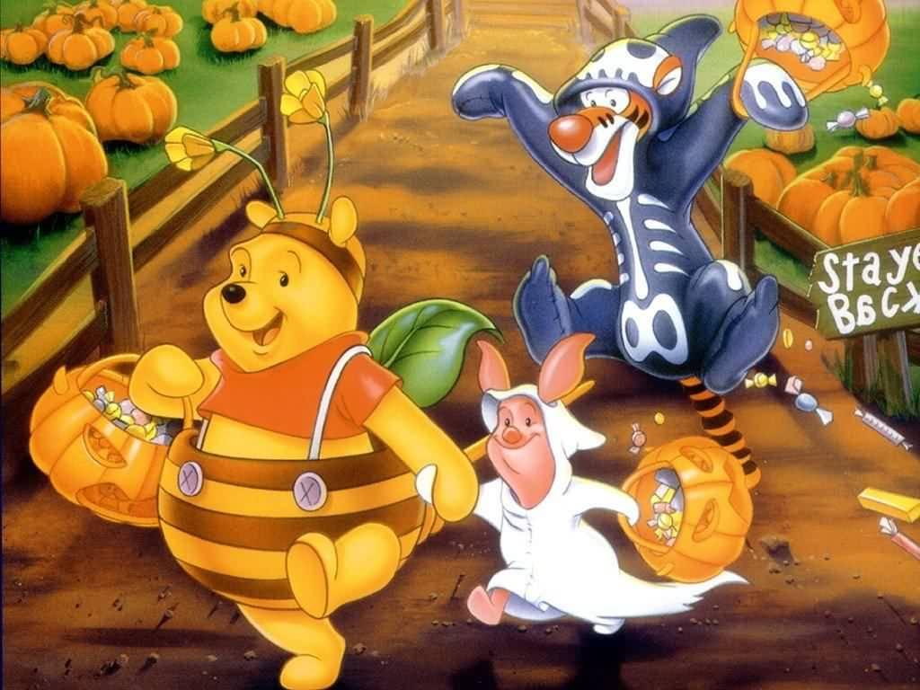 Image - Pooh Halloween Wallpaper.jpg | Winniepedia | FANDOM ...