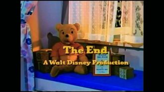 """Walt Disney Productions (""""The Many Adventures of Winnie the Pooh"""" 1977) Prototype Variant"""