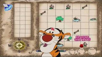 Disney's Winnie the Pooh Kindergarten Part 1 - Tigger's Treasure Hunt (Gameplay Walkthrough)
