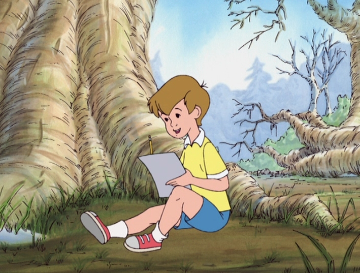 Christopher Robin   Writing A Letter