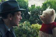 Christopher-Robin's movie-appearance-with-Pooh
