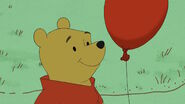 Winnie the Pooh and Red Balloon