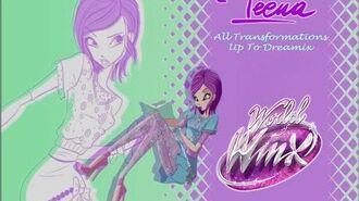 Winx Club Tecna All Transformations Up To Dreamix HD