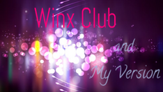 Winx Club and My Version logo