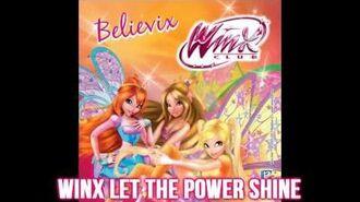 Alessia Orlando Ft.Winx Club Winx Let The Power Shine! Season 4 Soundtrack! HD!