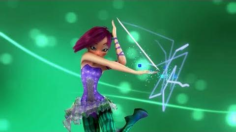 Winx Club Tecna Sirenix 3D! Official Transformation! HD!