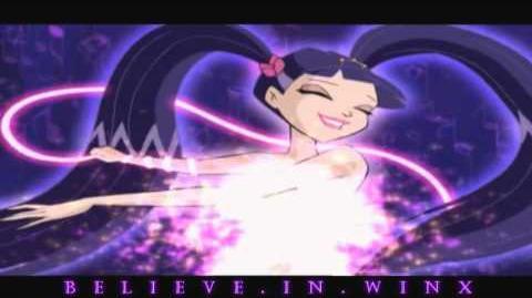 Winx Club Musa Enchantix Transformation! Nick Dub! HD!