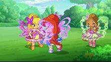 Stella, Bloom e Flora bambine butterflix in 720