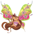 Winx Club Flora Believix pose3