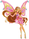 Winx Club Flora Enchantix pose3
