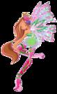 Winx Club Flora Sirenix pose12