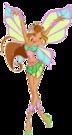 Winx Club Flora Sophix pose8