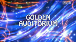 Golden auditorium