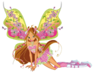 Winx Club Flora Believix pose9