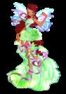 Winx Club Aisha Harmonix pose2