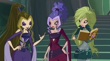 Darcy, stormy e selina in 606