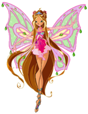 Winx Club Flora Enchantixxx pose