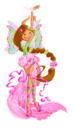Winx Club Flora Harmonix pose
