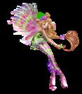 Winx Club Flora Sirenix pose70
