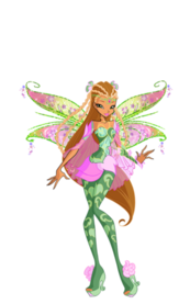 Winx Club Flora Bloomixx pose8
