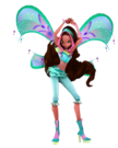 Winx Club Aisha Movie Believix pose