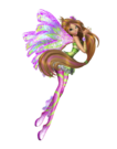Winx Club Flora Sirenix pose15