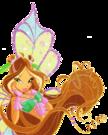 Winx Club Flora Sophix pose3