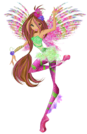 Winx Club Flora Sirenix pose18