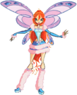 Winx Club Bloom Lovix pose