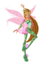 Winx Club Flora Bloomix pose15