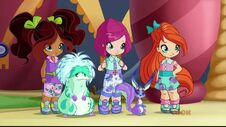 Winx bambine, Squonk e Flitter in 720