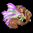 Winx Club Flora Sirenix pose7