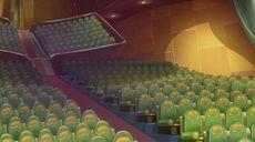 Golden auditorium aspetto 5