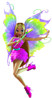 Winx Club Flora Mythix pose