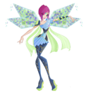 Winx Club Tecna Bloomix pose