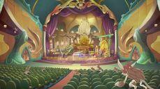 Golden auditorium aspetto 6